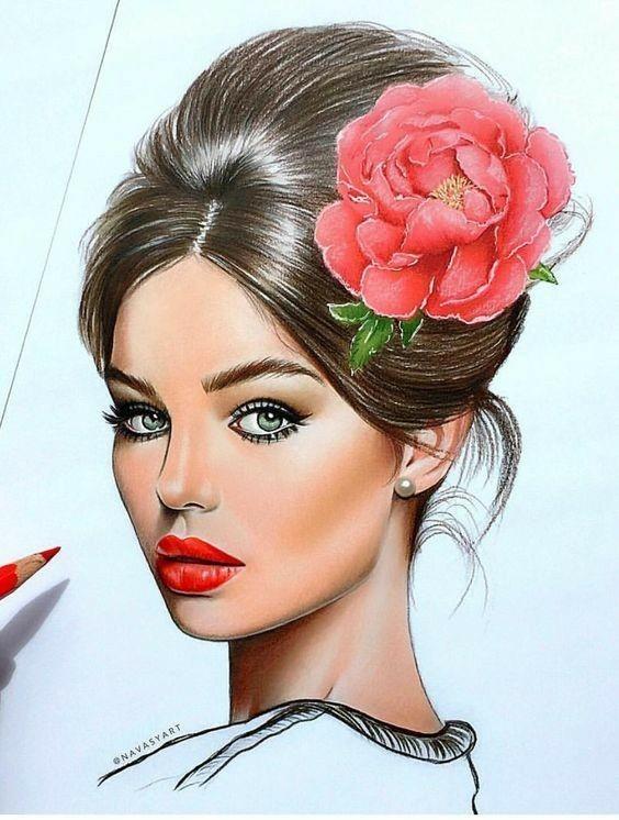 صور رسوم بنات Girls Art ارت بنات صور بنات مرسومه