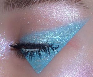 blue, aesthetic, and make up image