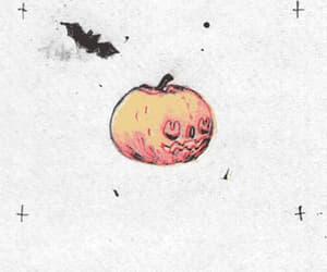 bat, gif, and pumpkin image