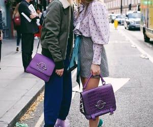 girls and purple image
