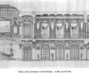architecture, mansion, and section image
