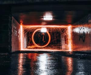 adventure, city, and dark image