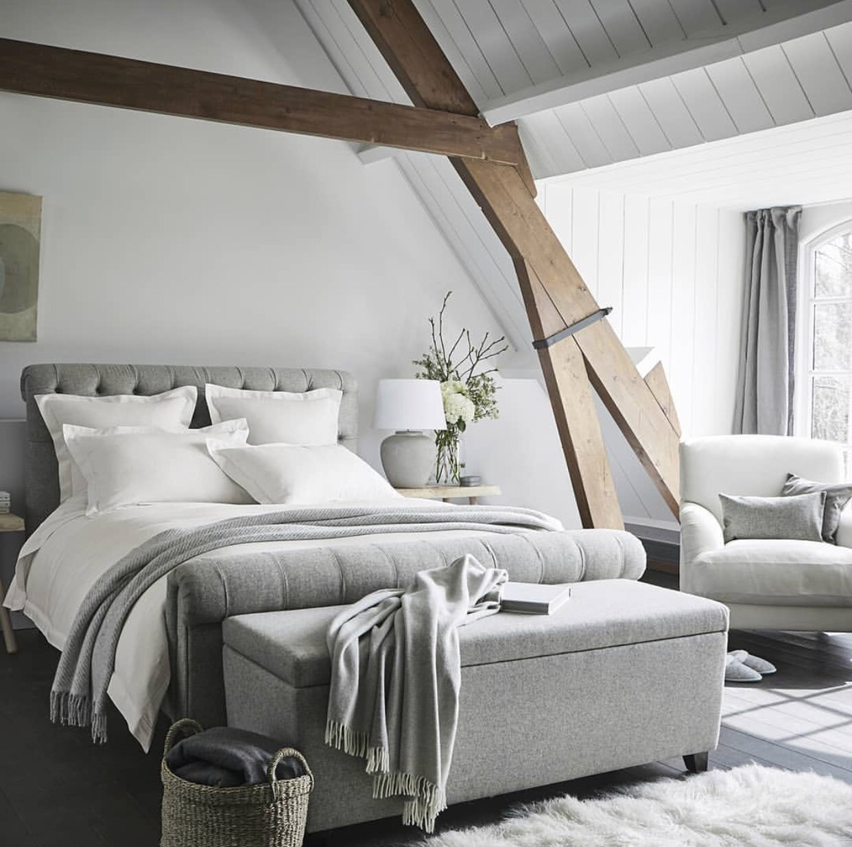 Gorgeous interior from the white company! on We Heart It