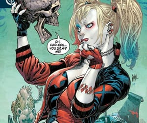 comics, harley quinn, and dc comics image