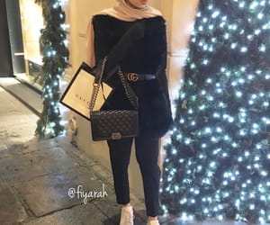 fashion style, outfit clothes, and hijab islam muslim image