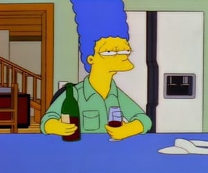 simpsons, the simpsons, and mood image