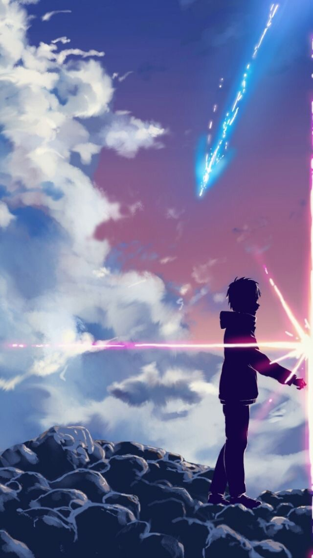 Image About Anime In Kimi No Na Wa 君の名は By イクラム