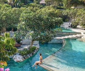bali, holidays, and nature image