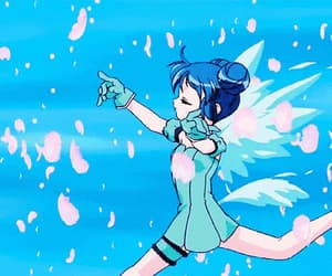 anime, blue, and mew mew power image