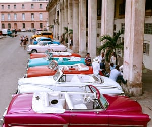 architecture, car, and cuba image