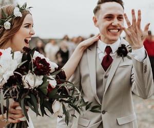 couple, goals, and wedding image
