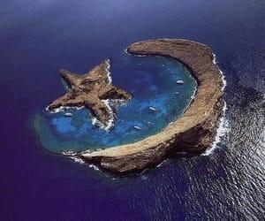 stars, moon, and Island image