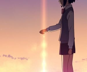 your name, kimi no na wa, and mitsuha image