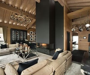 fireplace, matte, and rooms image