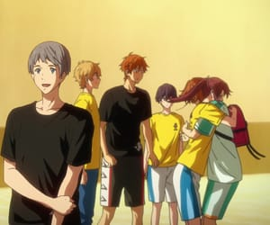 anime, crunchyroll, and free! dive to the future image