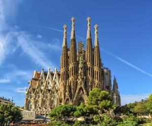 Barcelona, españa, and la sagrada familia image