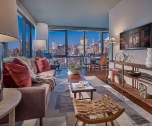 apartments, Houses, and new york city image