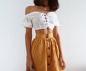 fashion, saia, and skirt image