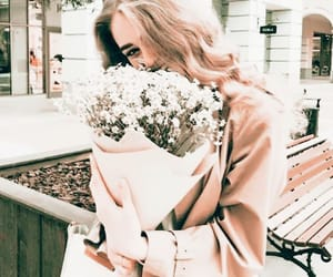 aesthetic, tumblr, and flowers image