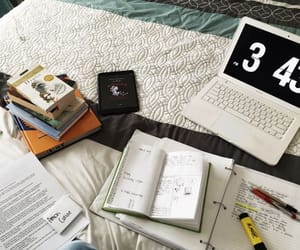 study, book, and motivation image