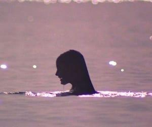 water, aesthetic, and girl image