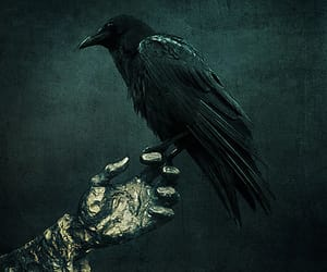 fantasy, gothic, and nevermore image