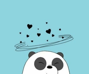 wallpaper, panda, and we bare bears image