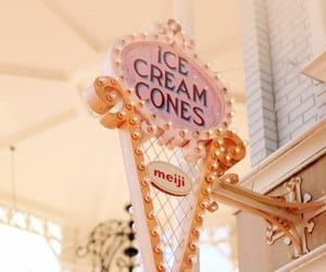 ice cream, cone, and icecream image