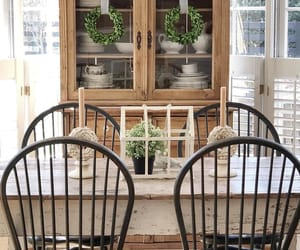 country living, hutch, and interiors image