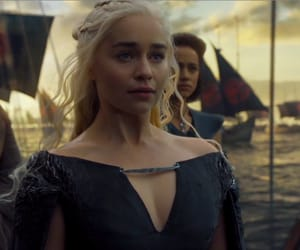got, emilia clarke, and mother of dragons image