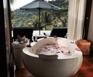 luxury, bath, and relax image