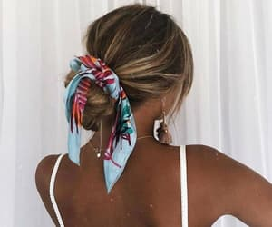 girl, hair style, and summer image