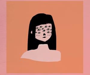 aesthetic, background, and eyes image
