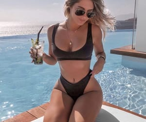 bathing suit, style, and summer image