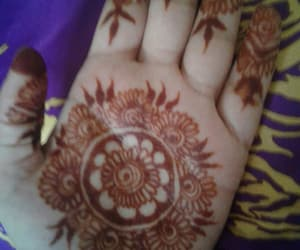 henna, hennadesign, and bridal henna image