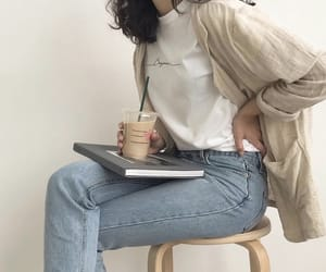 aesthetic, beige, and casual image