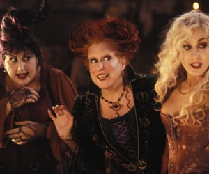hocus pocus, Halloween, and Witches image
