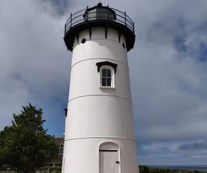lighthouse, mv, and martha's vineyard image