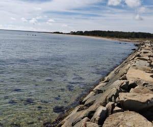 beach, mv, and sea image
