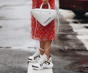 bag, clothes, and Louis Vuitton image