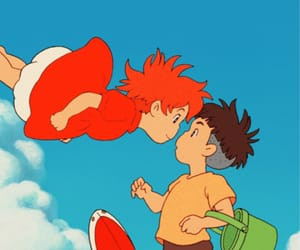 Ponyo, anime, and studio ghibli image