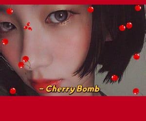 cutegirls, koreanstyle, and redlip image