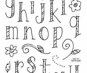 letras, títulos, and caligrafía image