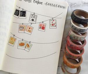 journal, bullet journal, and art image