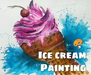 drawing, Easy, and paint image