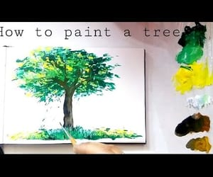 Easy, video, and acrylic painting image