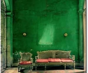 aesthetic, green, and house image