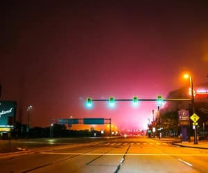 cleveland, glow, and street image