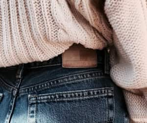clothe, fashion, and jeans image