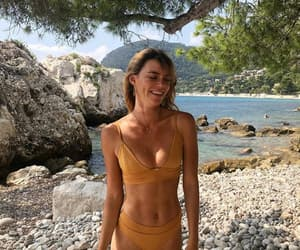 beach, style, and bikini image